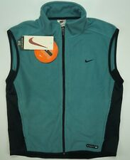 Rare Vintage NIKE Fit Tech Training Cycling Fleece Vest Jacket 90s NWT Youth XL