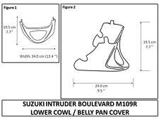 SUZUKI Boulevard M109R LOWER COWL / BELLY PAN INTRUDER