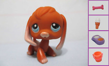 Littlest Pet Shop#233 Brown Beagle Puppy Dog+1 FREE Access. 100% Authentic