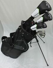 Left Handed Mens Callaway Golf Set Driver, Fairway Wood, Hybrid, Irons, Putter