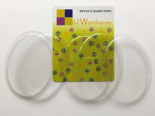 Oval Shaped Clear Plastic Domes Bubble Fronts Fillables for Shaker Card Making