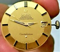 66' 18K Solid Gold Omega 561 Constellation Chronometer Certified Pie Pan 168.004