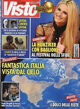 Visto 2017 52.Michelle Hunziker & Festival di Sanremo,Matthew McConaughey