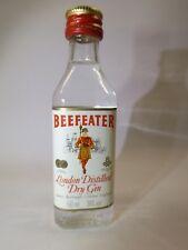 BEEFEATER Gin 50 ml 38% mini flasche bottle miniature bottela mignonnette