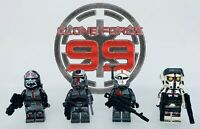 Star Wars The Bad Batch Clone Force 99 Minifigures 4pcs Custom Set