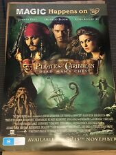 Pirates Of The Caribbean - Dead Man's Chest movie poster