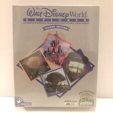 Walt Disney World Explorer 2nd Pc Cd-Rom rides shows tour amusement park trip!