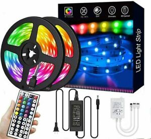 Led Strip Lights 33 ft RGB Led Room Lights Led Tape Lights Color Changing