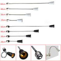 E27 Flexible LED Light Bulb Lamp Holder Extension Adapter Socket Converter