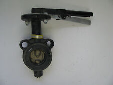 """2"""" Hammond Butterfly Valve With Locking Handle, Wafer, P/N 6130010200"""