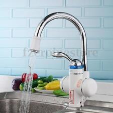 Elektrische Durchlauferhitzer Armatur Wasserhahn Bad Küche Spültisch 3000W 220V