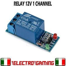 Modulo 1 canale Relè 12V 10A 250V - Relay Module 1 Arduino PIC ARM Atmel - BE46