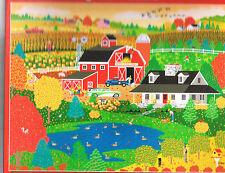HEARTLAND 550 PIECE JIGSAW PUZZLE APPLE POND FARM PUMPKINS BY MARK FROST