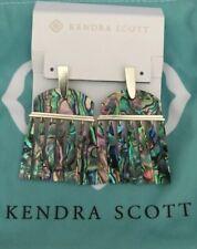 New Kendra Scott Layne Abalone Earrings  $140.00