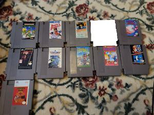 Lot of 10 NES Games Nightmare on Elm Street/Kirby/Metroid/TMNT Tested/Working