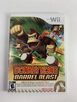 Donkey Kong Barrel Blast (Nintendo Wii, 2007) Free Shipping !!