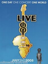 LIVE 8 (JULY 2 2005) COMPLETE LIVE AID CONCERT COLLECTION USED 4 DVD BOXSET R4