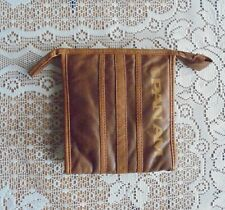 More details for pan am - toiletry bag - leather outside