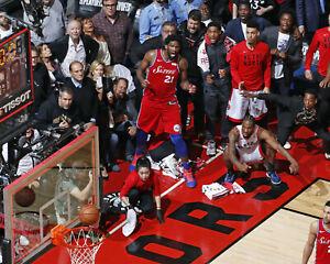 "Kawhi Leonard - The Shot ""Game 7 Winner vs 76ers"", 16x20 Color Photo"