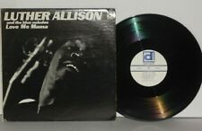 LUTHER ALLISON Love Me Mama LP Delmark Vinyl  DS6525 PLAYS WELL Chicago Blues