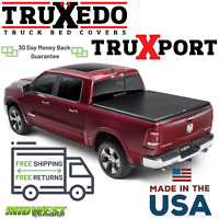 "Truxedo Truxport Roll Up Tonneau Cover For 2019 New Body Dodge Ram 1500 5'7"" Bed"