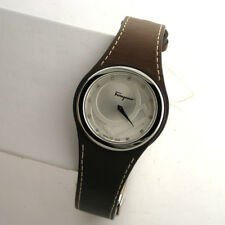 Salvatore Ferragamo FID030015 GANCINO CHIC Leather Diamond Swiss Stainless Watch