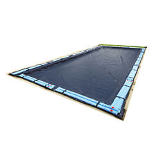 Polyethylene Navy Blue 29-ft x 21-ft Bronze Winter Rectangle Swimming Pool Cover