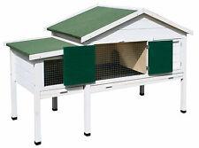 Kleintierstall Nagerstall XL Kaninchenstall Hasenstall Stall Kaninchen Hase Weiß