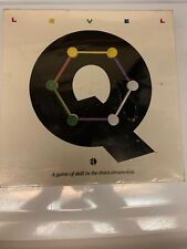 Level Q - a Game of Skill in the Third Dimension 1987 Factory Sealed Vintage