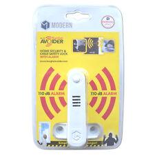MODERN Burglar Avoider Sash Blocker With Alarm - White - ASL04