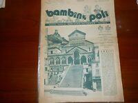 1940 CATALOGO DI MODA BAMBINOPOLI EDITO A NAPOLI EDITORE GUGLIELMO FATTORUSSO