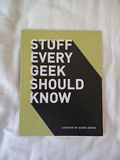 STUFF EVERY GEEK SHOULD KNOW from Quirk Books Cards Against Humanity Concert