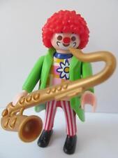 Playmobil Circus/Fiesta De Cumpleaños figura extra: Payaso con Saxofón Nuevo