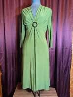 NEW Evan Picone Green Stretch Polyester Dress Women 4 NWT Closet135*