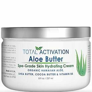 Hawaiian Aloe Vera Butter for Skin Rejuvenation, Hydrating & Healing Face & Body
