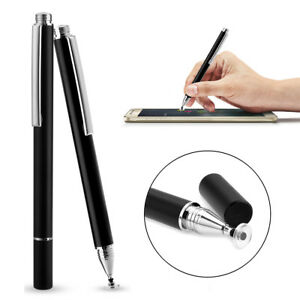 Fine Precision Round Capacitive Touch Pen Stylus For iPad Samsung Tablet PC Tab