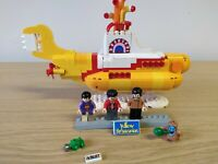 LEGO Ideas Yellow Submarine (21306) The Beatles Rare Retired No John!