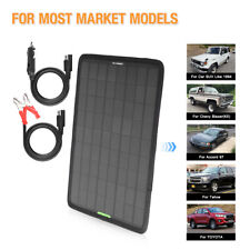 Eco-worthy 12V 10W Multi-Purpose Portable Solar Panel Car Battery Charger Kit