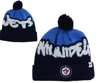 New NHL NWT Winnipeg Jets 47 Brand Underdog Pom Youth Winter Hat Knit GD