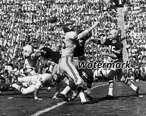 NFL 1967 Super Bowl I Bart Starr Green Bay Packers Game Action 8 X 10 Photo Pic