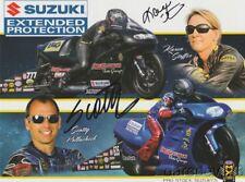 2017 Karen Stoffer + Scotty Pollacheck signed Suzuki PSM NHRA postcard