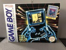 Original Nintendo Game Boy Console - Boxed With Tetris - Mint Condition