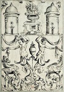 Gravure originale 16è de Jacopo FRANCIA