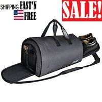 2 in 1 Carry-on Travel Garment Bag Convertible Suit Duffle Bag Shoes Compartment
