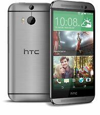 HTC ONE M8 16GB 3G 4G GUN METAL GREY BNIB UNLOCKED SMART MOBILE PHONE UK NEW