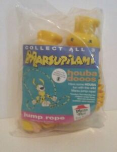 DISNEY MARSUPILAMI PIZZA HUT KIDS MEAL PLASTIC JUMP ROPE SEALED PACKAGE 1994