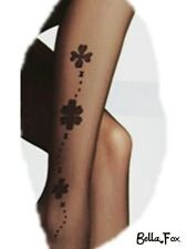 Quality Formal Black Tights Sheer PANTYHOSE with Sexy Pattern Stockings