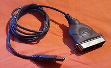 Belkin F5U002 CENTRONICS MASCHIO A USB standard Parallelo Stampante Cavo Piombo