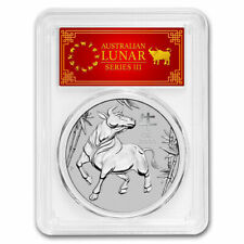 2021 AUS 1 oz Platinum Lunar Ox MS-70 PCGS (FS, Red Label) - SKU#217571