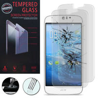 2 Films Verre Trempe Protecteur Protection Haute Qualite Pour Acer Liquid Jade Z